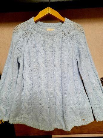 Кофта джемпер свитер для беременной шерсть вязка