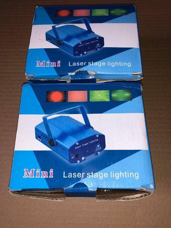 Mini laser dyskotekowy