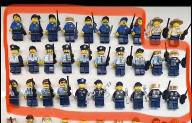 Lego figurki policjanci