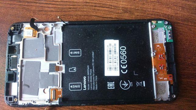 Lenovo K5 dual SIM na części srebrny