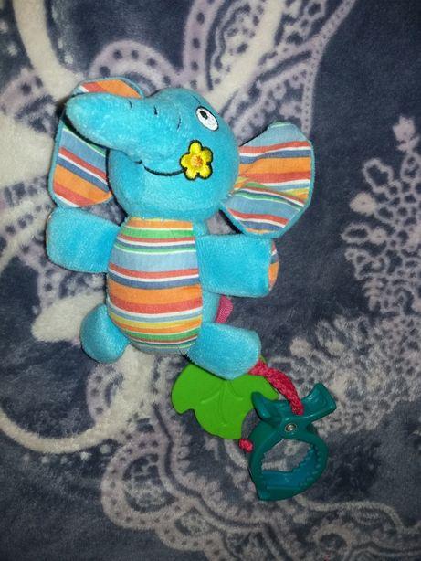 Мягкая игрушка- погремушка подвеска
