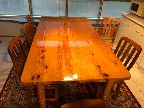 Sprzedam stół 194x98 wraz z krzesłami