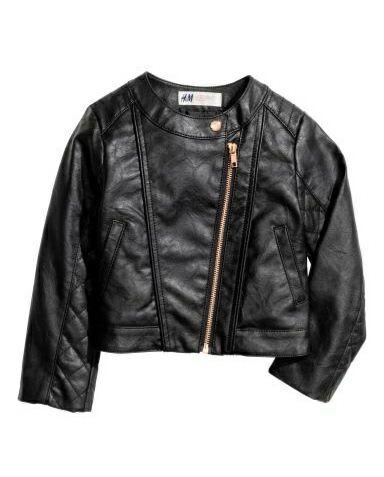 кожанка h&m 3-4 куртка косуха Каменец-Подольский - изображение 1