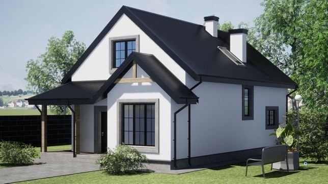 Современный коттедж (дом, будинок) Воинстрой