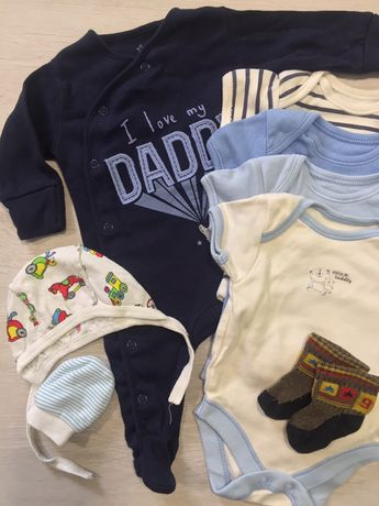 Набір одягу для новонародженого хлопчика George