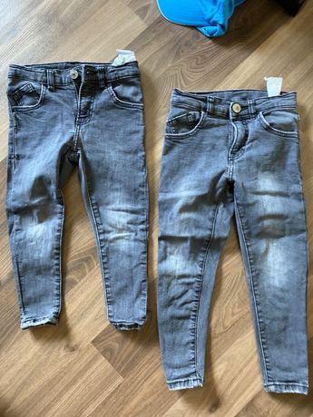 Spodnie jeansy zara r 110 i 116