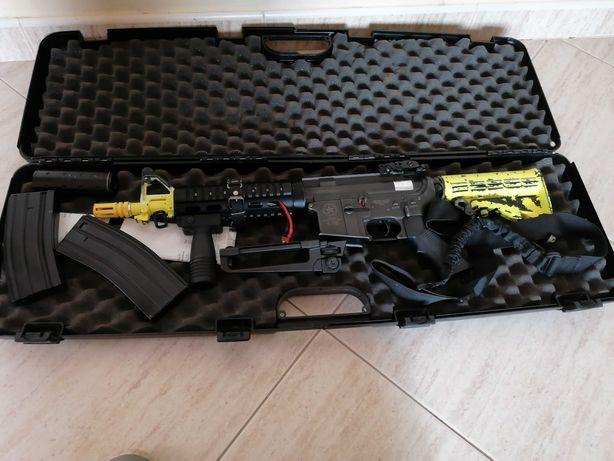 M4 lone star  Airsoft full metal