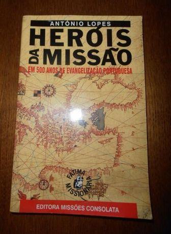Livro Heróis da Missão, De Pai para Filho, O Óbvio, Manuel Laranjeira
