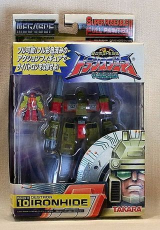 Takara Transformers Destron Ironhide