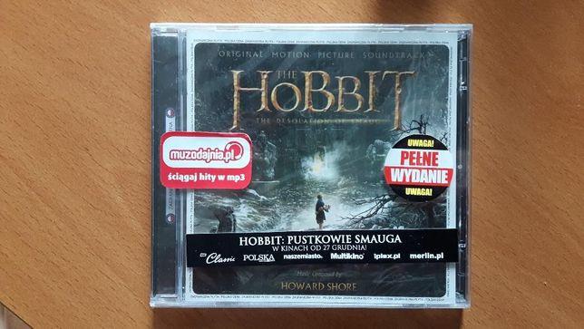 Hobbit 2: Pustkowie Smauga 2CD (Howard Shore) soundtrack NOWA w folii