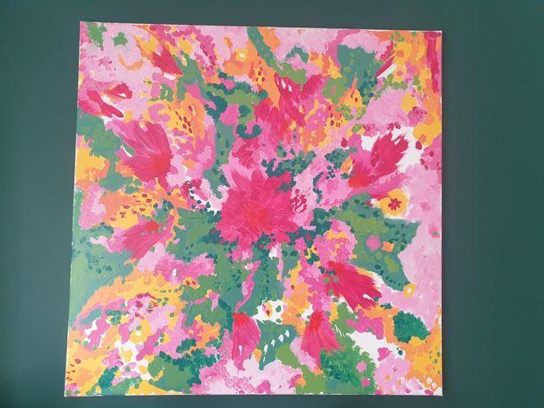 100 x 100cm akryl