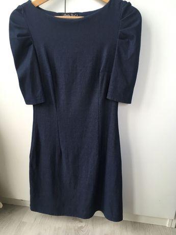 Sukienka z niby dżinsowego materiału Pretty girl rozmiar M