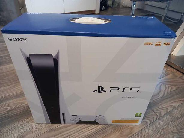 (Nowa i nieotwierana) Playstation 5 z napędem i padem, 825 GB