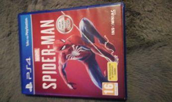 spiderman płyta ps4