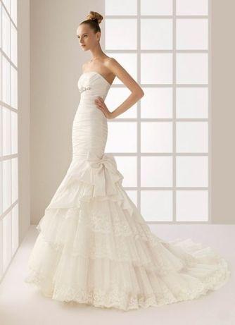 Vestido Noiva - Rosa Clará - Modelo Cristina
