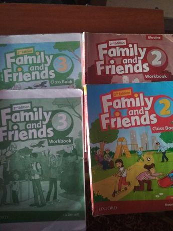 Англійська family and Frends 2, 3