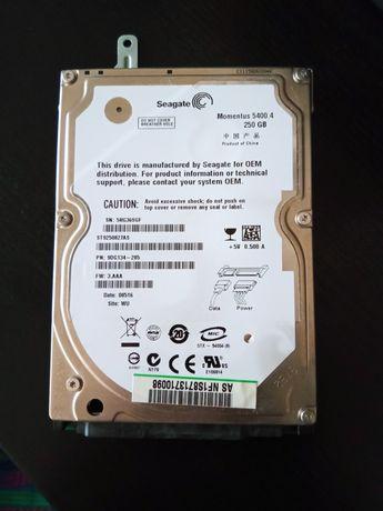 Disco rígido 250 gb