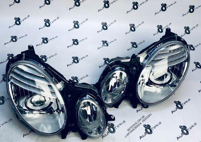 Новые Фары Мерседес W211 Рестайлинг Галоген Левая Правая Запчасти Шрот