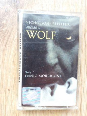 Kaseta Wolf OST Ennio Morricone 1994r.