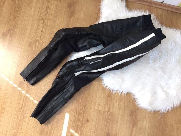 Skórzane spodnie motocyklowe hein gericke 42 czarne