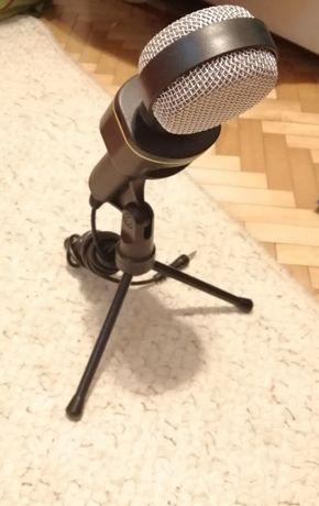 Mikrofon do komputera komputerowy nowy ze statywem