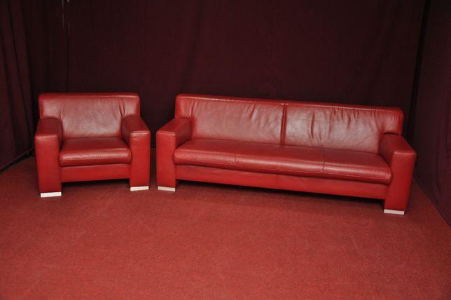 Шкіряний гарнітур, диван, крісло. Привезений з Европи. Кожаный диван
