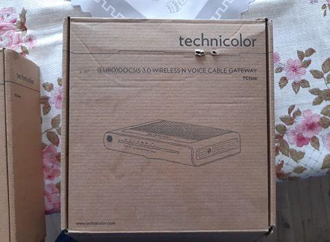 Router WiFi Technicolor TC7200