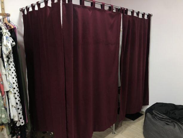 Продам штори для примірочної