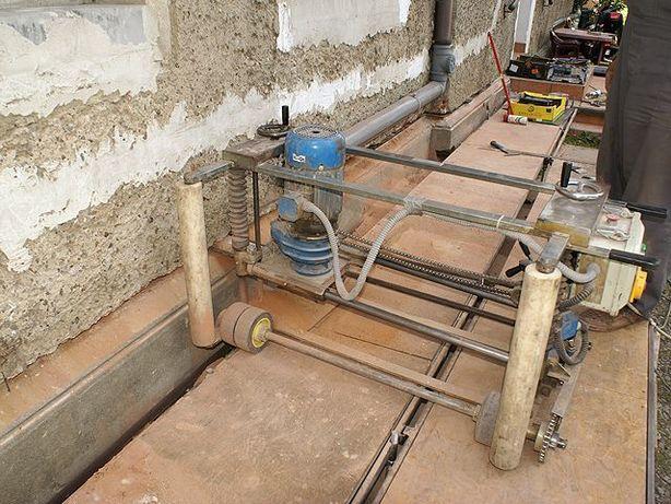 Podcinka ścian metodą PRINZ - osuszanie budynków