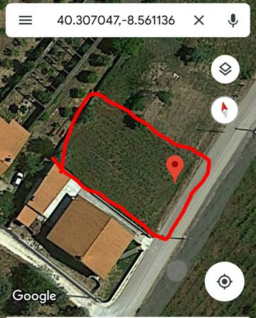 Excelente Terreno para construção entre Cantanhede e Coimbra