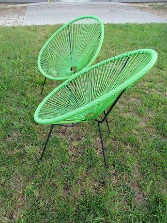 REZERWACJA Zestaw 2 krzesła ogrodowe/tarasowe NOWE