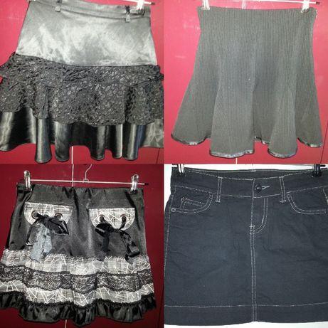 Школьная нарядная джинсовая юбка 9-10 лет или 11-12лет