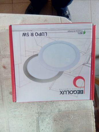 22 Paineis LED 5w Branco 6000K IP 44