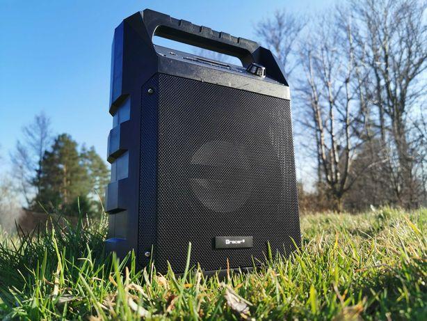 Kolumna Wieza Radio Budowlane Głośnik BLUETOOTH Przenośne MP3 Karaoke