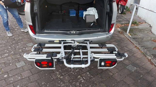 Niemiecki bagażnik rowerowy hak uchylny MFT Multi Cargo 4 rowery 80kg