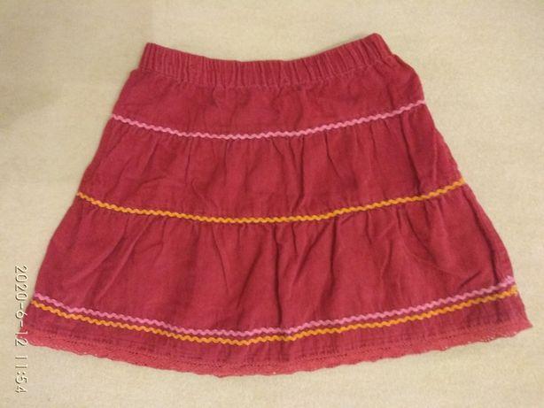 Юбка вышиванка для девочки на рост 98 -110 см