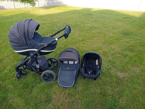 Wózek dziecięcy Adamex Vicco 3w1 fotelik gondola spacerówka + łóżeczko