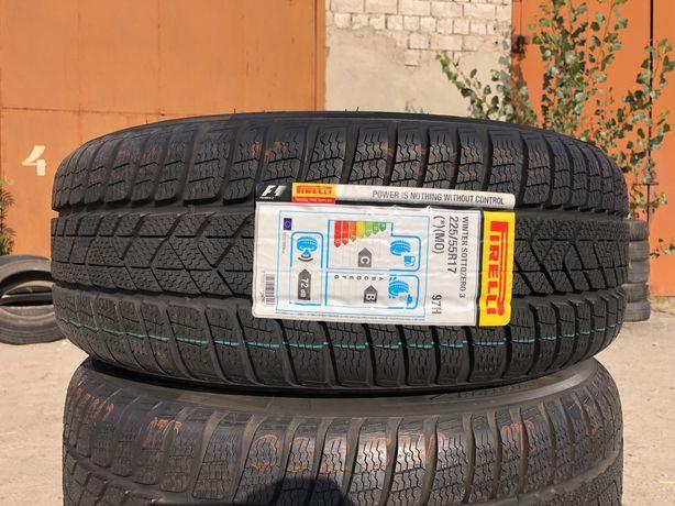 225/55 r17 Резина зимняя Pirelli Sottozero 3 НОВАЯ