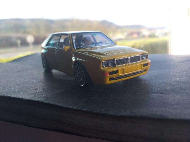 Miniatura Lancia delta