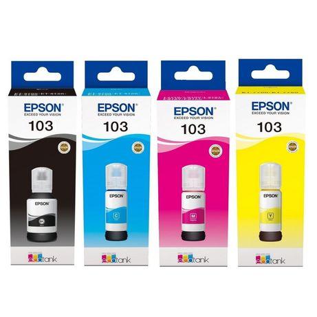 Комплект Оригинальных чернил Epson (103) L3100/L3101/L3110/L3150 (B/C/