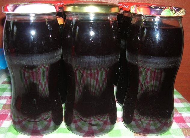 Domowy sok (syrop) z winogrona