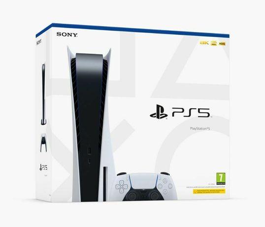 Konsola SONY PlayStation 5 z BLU-RAY zestaw gracza