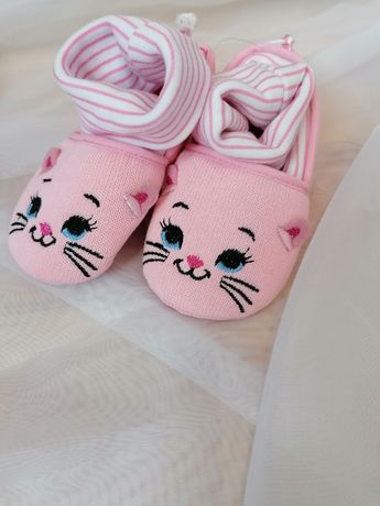 Пинетки, носочки, сандали