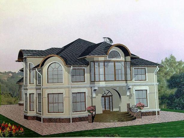Для большой семьи, два дома, 5 км до Киева (Зазимье)