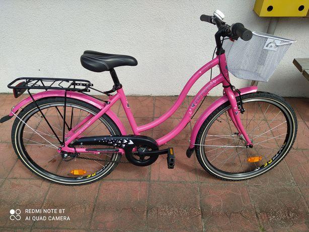 Rower jak nowy dla dziewczynki 24 cale firmy Maxim