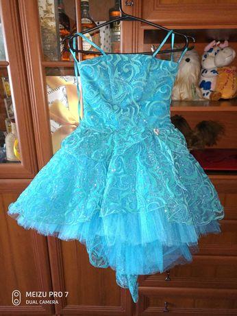 Платье  выпускное, для выступлений, праздничное подростковое