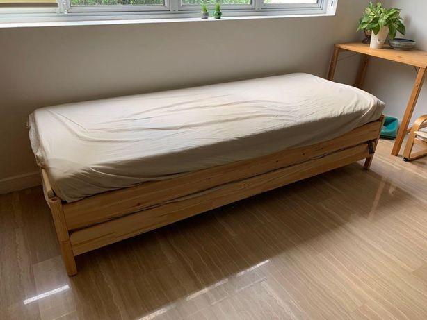 Ikea Utaker łóżka nakladane (1 materac gratis)