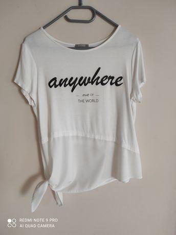 Biała bluzka kupiona w orsay