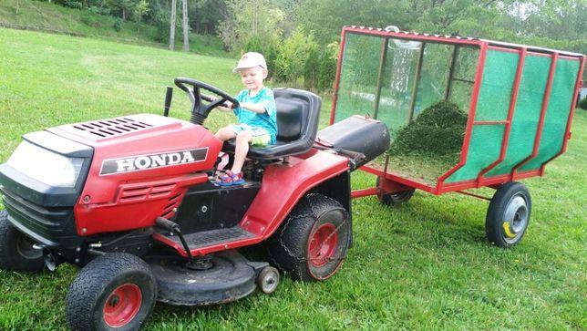 Przyczepka quad wywrotka samozbierajaca ogrodowa do traktorktorka