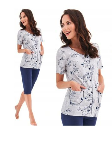 Piżama damska rozpinana XL/42